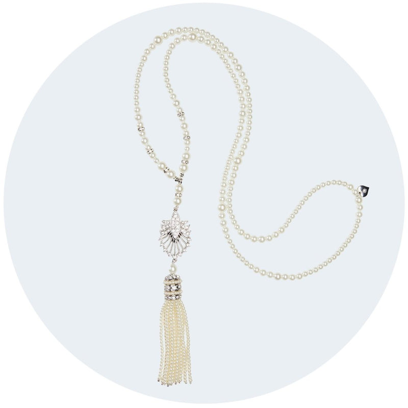 Deco Statement Tassel Necklace