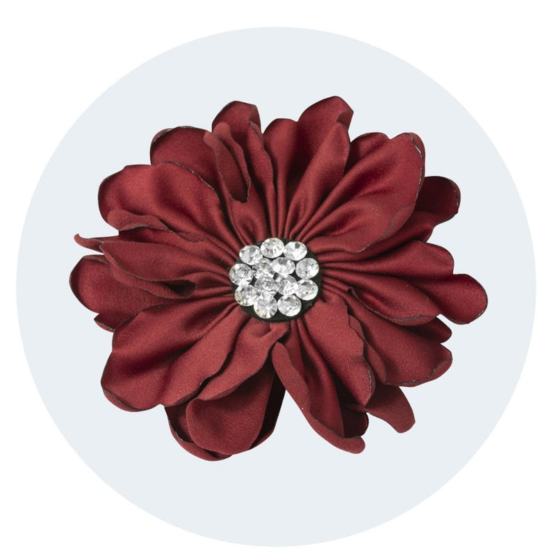 Vintage Style Hair Flower / Brooch | Dual Grip