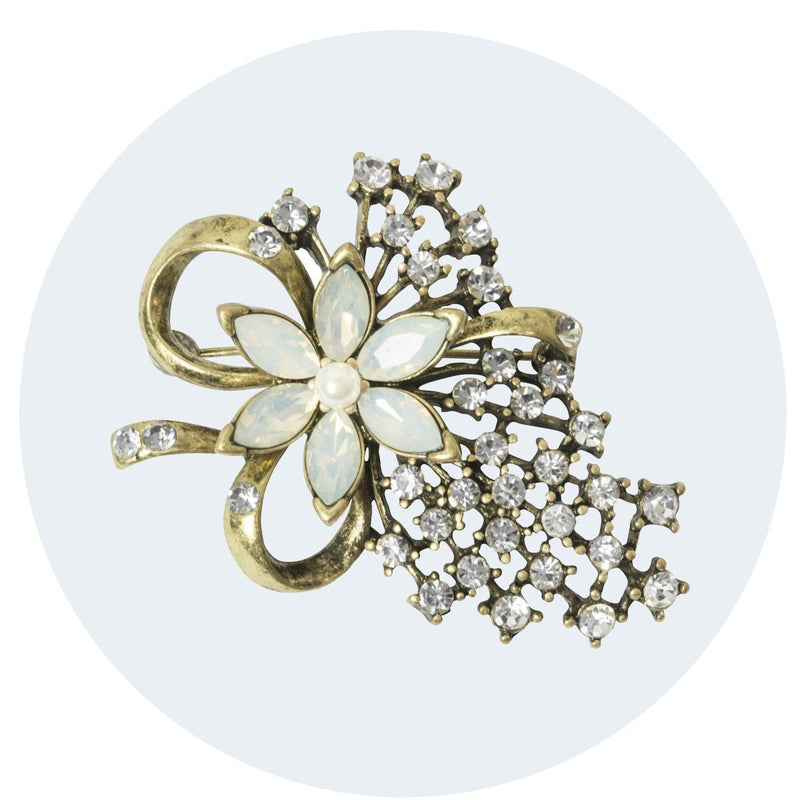 Miriam Haskell Style Brooch