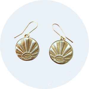 Lucky Coin Earrings