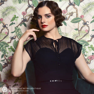 Stop Staring Twilight Dress - Revival Retro