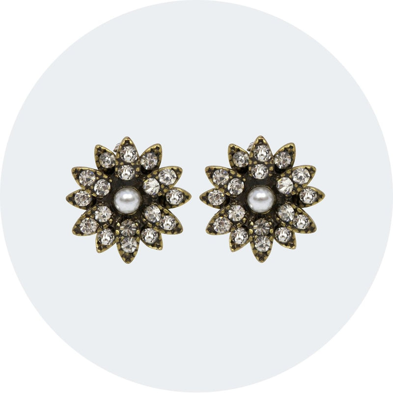 Vintage Style Earrings | Studs