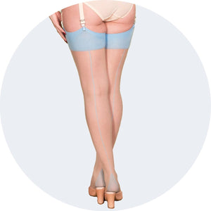 Glamour Seamed Stockings
