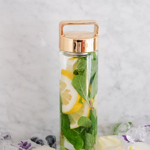 Lemon + Mint Detox Water