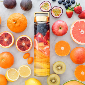 Blueberry, Strawberry, Grapefruit, Orange & Lemon Detox Water