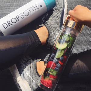 Strawberry, Blueberry, Raspberry, Cucumber & Mint Detox Water // @alexsawyer02