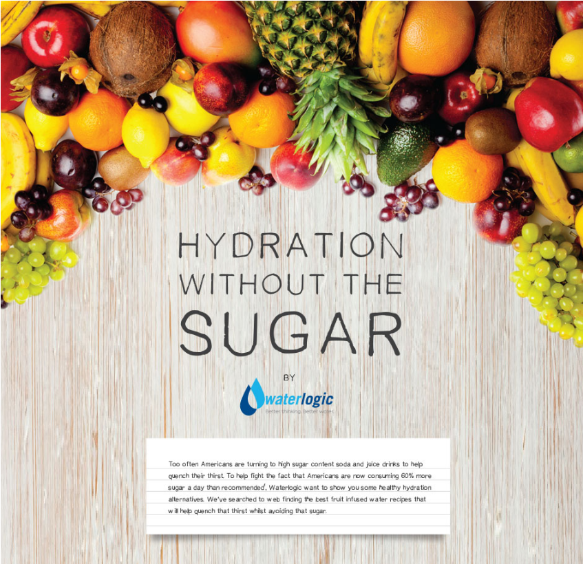 Hydration without the Sugar // Water logic