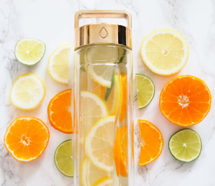Lemon, Lime and Orange Detox water // @eecederholm