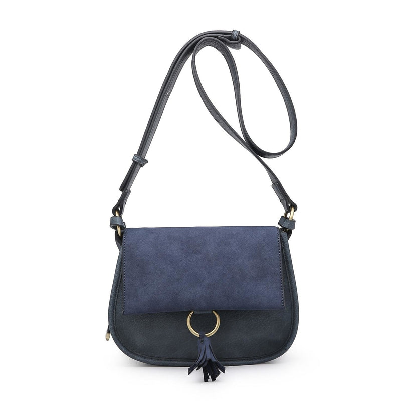 Domino Crossbody (Dark Blue)