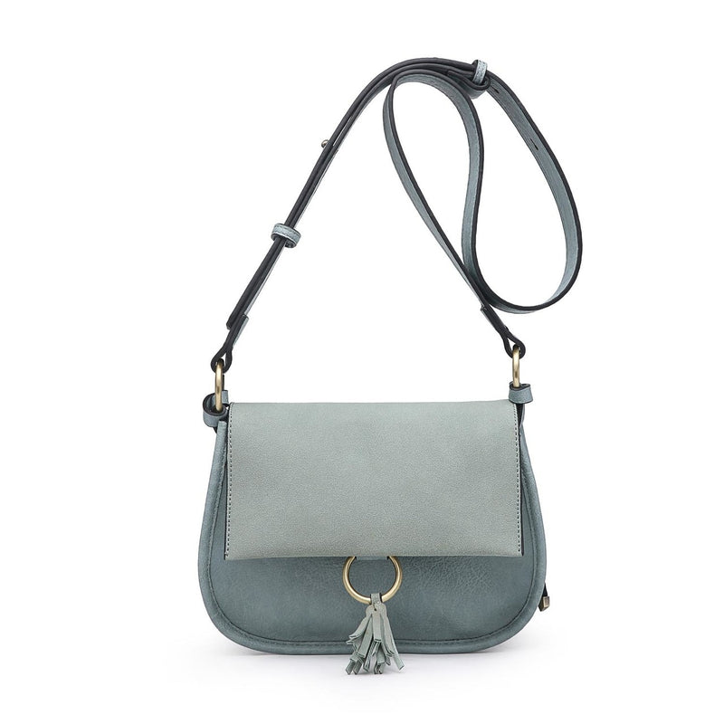 Domino Crossbody (Teal)