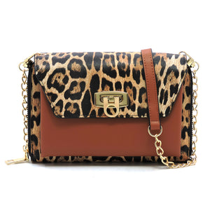 Mya (Leopard/Brown) Crossbody