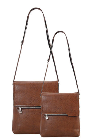 Jaleel Men's Crossbody (Brown)
