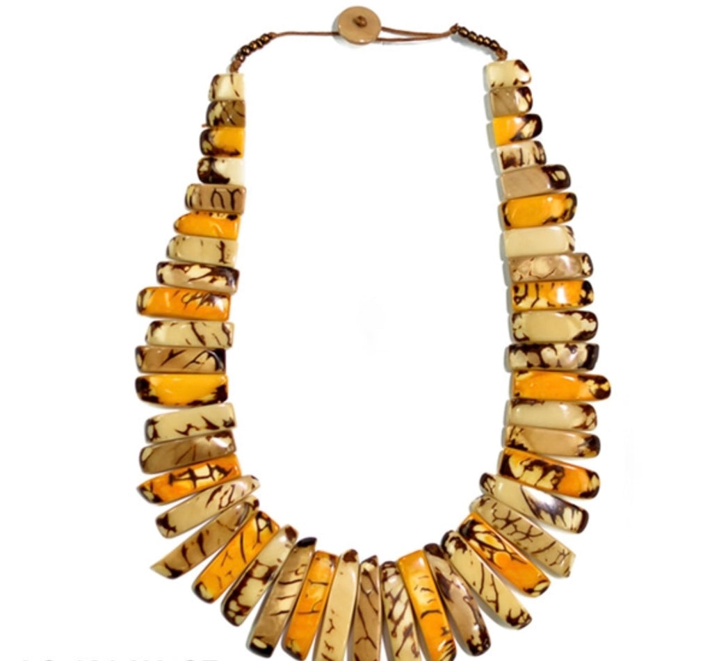 Amazon Necklace (Mustard) Combo
