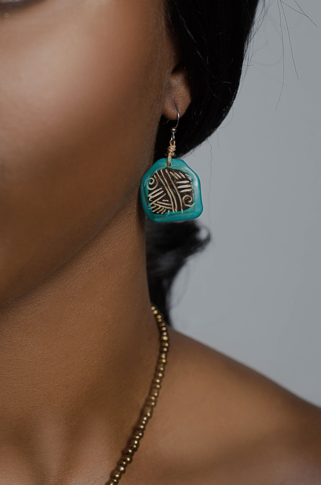 Andina Earrings Turquoise