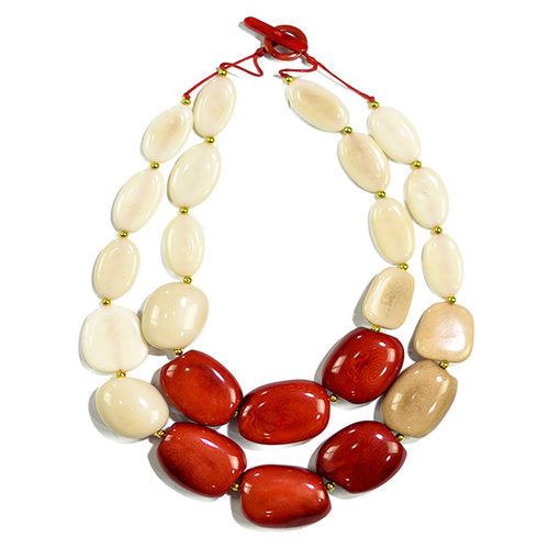 Manabi Necklace Rojo Combo