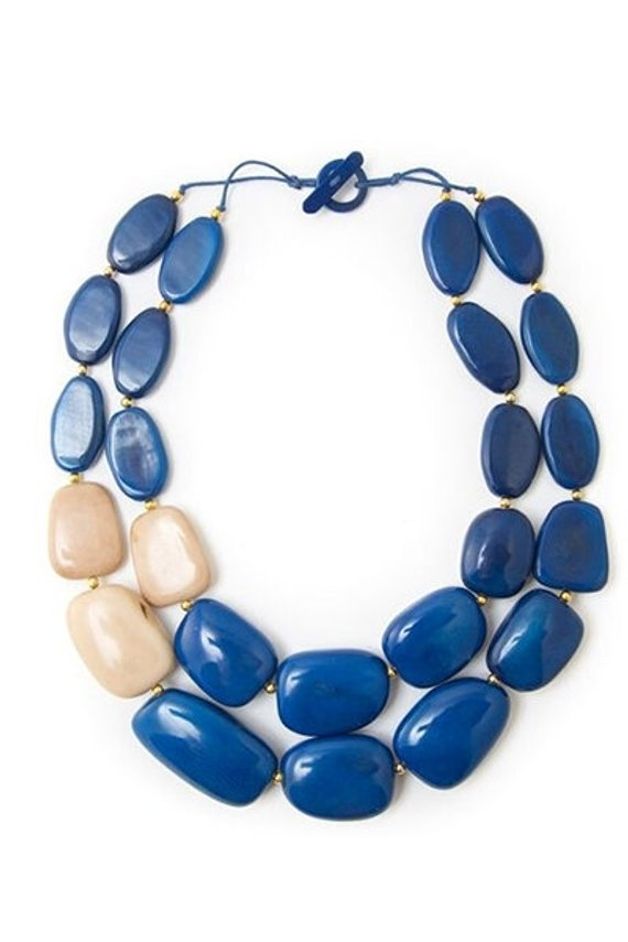Manabi Necklace Navy Combo