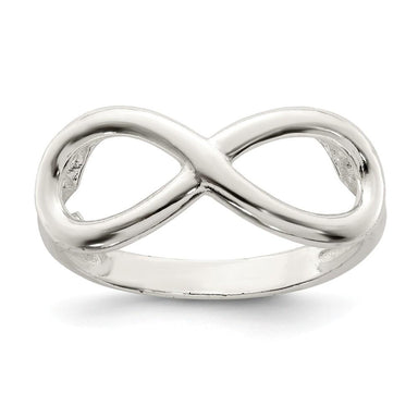 925 Sterling Silver Infinity Band Ring Fine Jewelry Gifts For Women For Her Wedding Bands IceCarats.com Designer Jewelry Gift USA