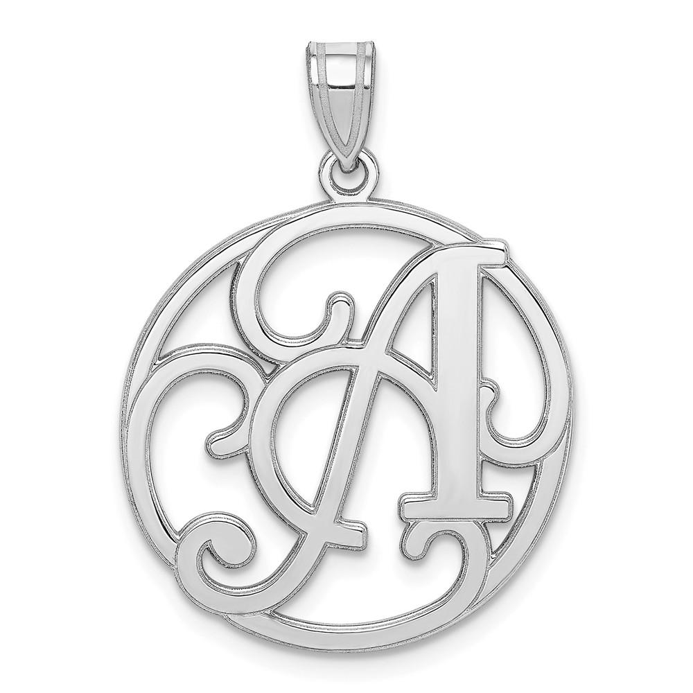 Sterling Silver Letter T Charm Initial or for Hand Stamping Solid .925