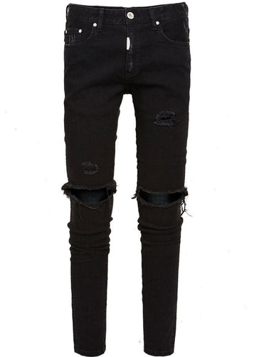 Vintage Black Destroyer Denim