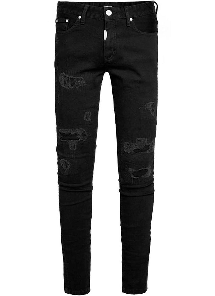 Vintage Black Repairer Denim