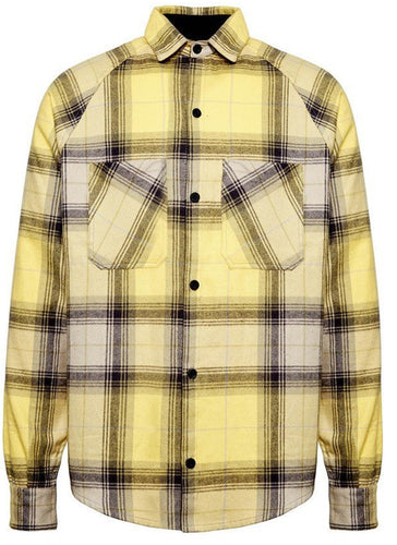 Flannel Shirt-Yellow