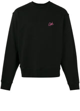 Girls Embroidered Crewneck