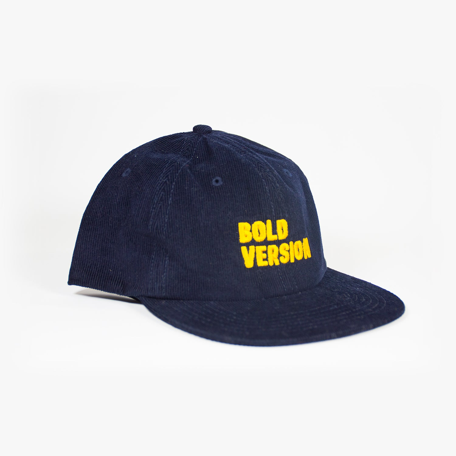 Bold Version Navy Corduroy Hat