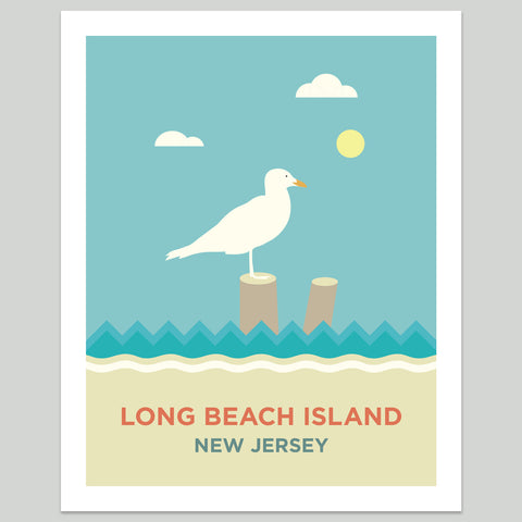 Long Beach Island Seagul