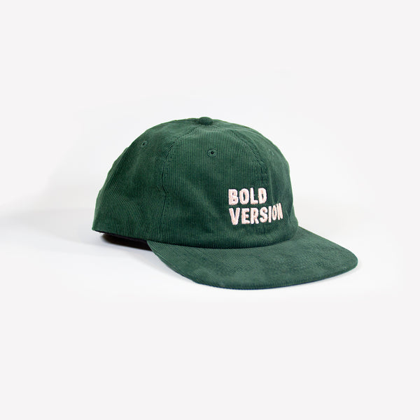 Bold Version Green Corduroy Hat