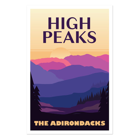 High Peaks - The Adirondacks
