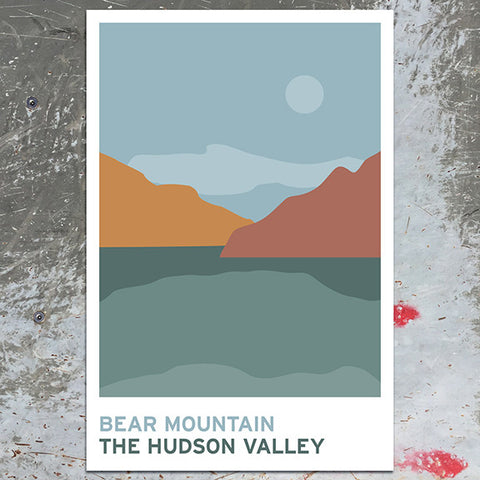Bear Mountain - The Hudson Valley - Art Print