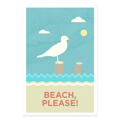 Beach Please - Seagull