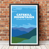 Catskill Mountains The Hudson Valley- blues