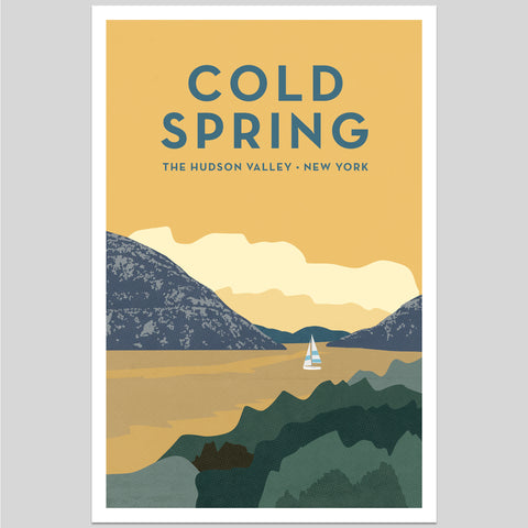 Cold Spring Hudson Valley Print