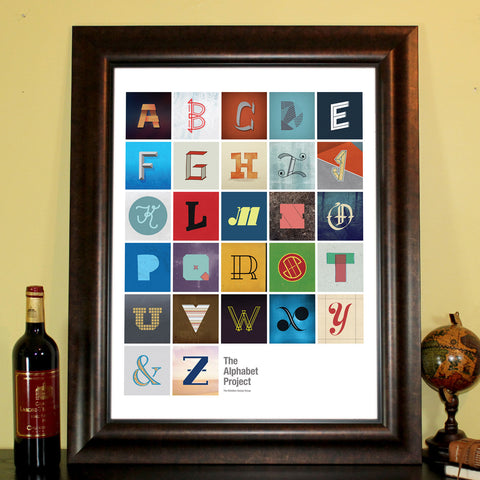 The Alphabet Project Poster