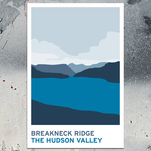 Breakneck Ridge - The Hudson Valley - Art Print