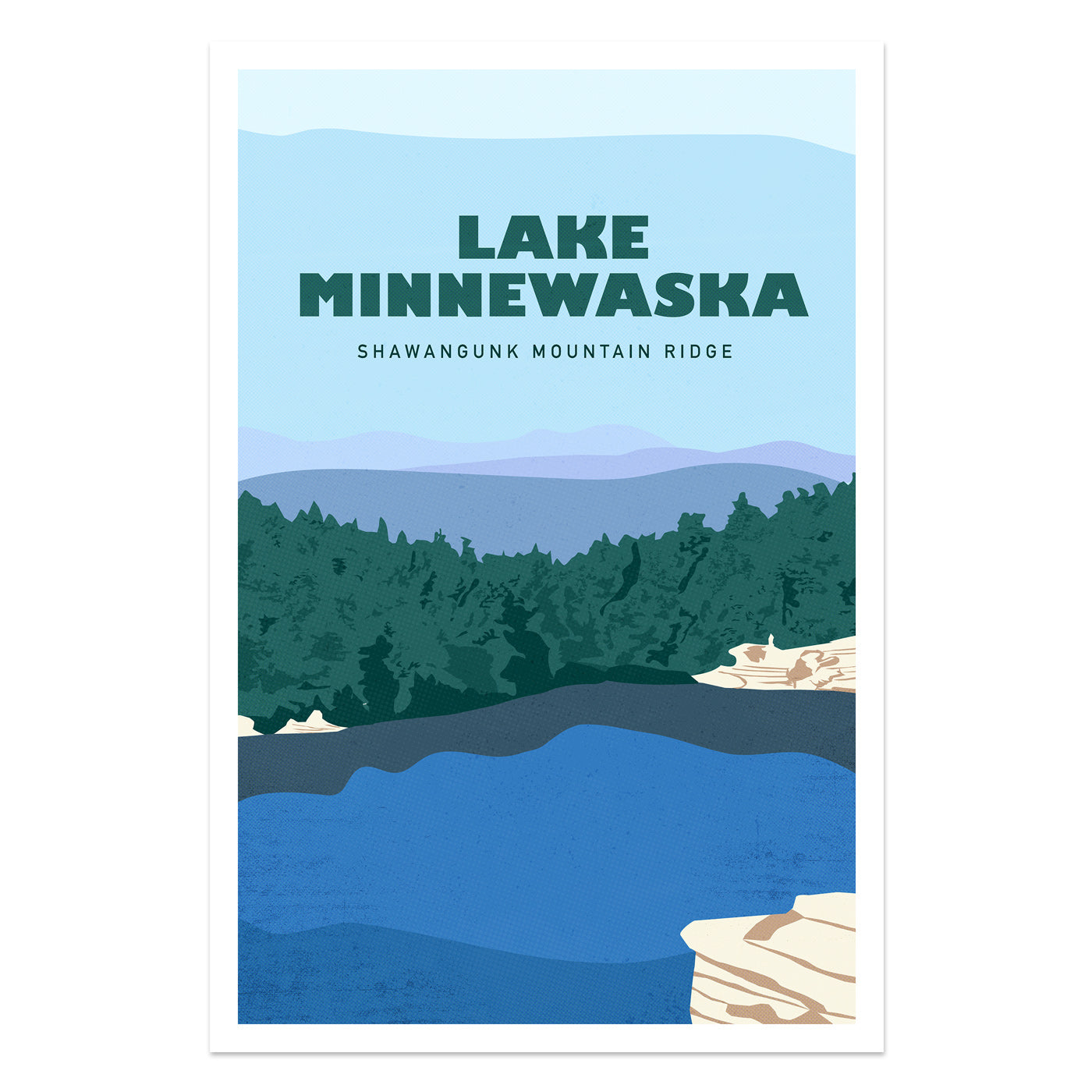 Lake Minnewaska Shawangunk Mountains