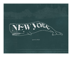 New York Sperm Whale