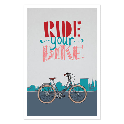 Ride Your Bike - City Cruiser
