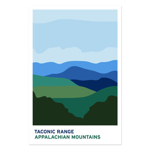 Taconic Range Appalachian Mountains