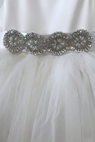 Pearl & Crystal Royale Jewel Sash