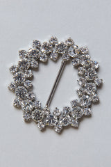 BROOCH • Crystal Buckle