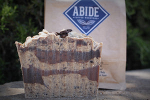 Abide Coffee Roasters Fresh Ground Coffee Soap Bars