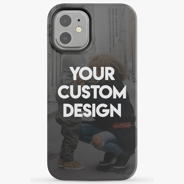 Custom iPhone 12 Mini Extra Protective Bumper Case