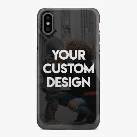 Custom iPhone X / XS Extra Protective Bumper Case