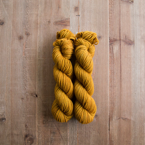 Spanish Coin - Cashmere Aran (two skeins)