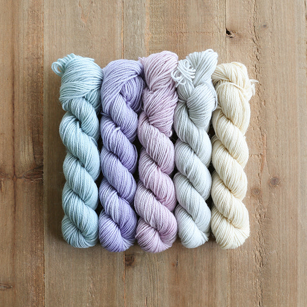 SOFTHEARTED - set of 5 mini skeins
