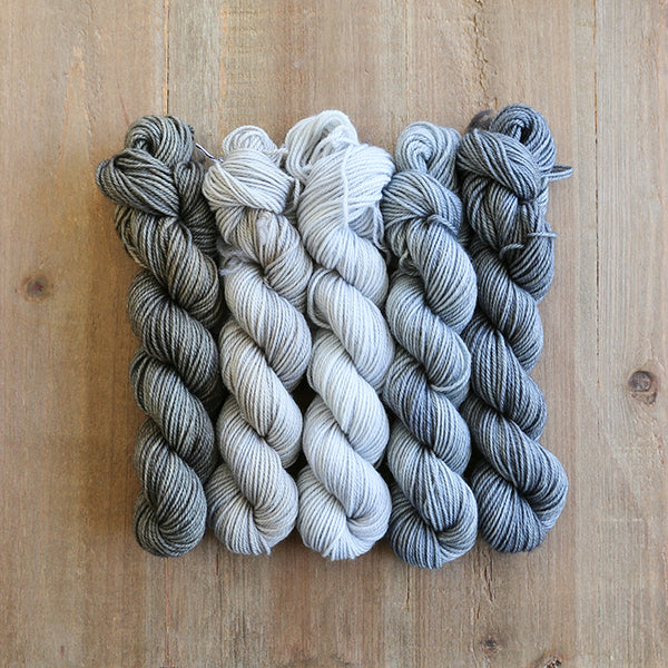 FARMHOUSE - set of 5 mini skeins