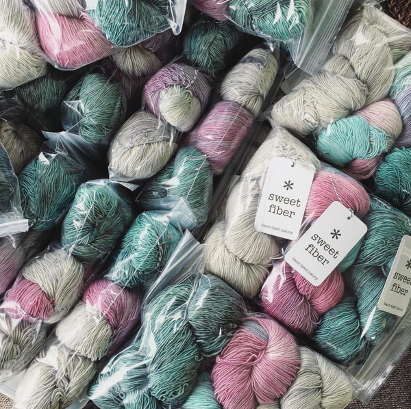 Teacup Shawl yarn kit - Ready To Ship