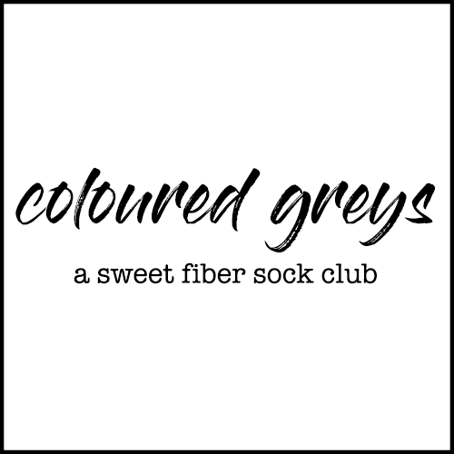 Coloured Greys | Sock Club 2018